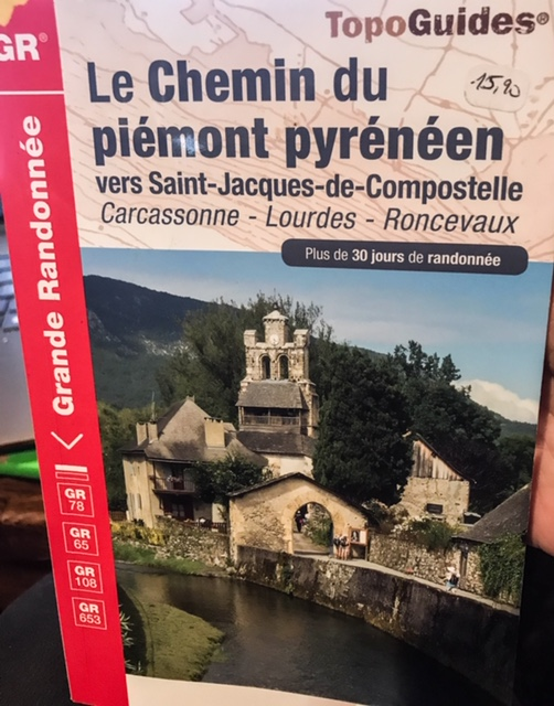 French guidebook Chemin du Piemont